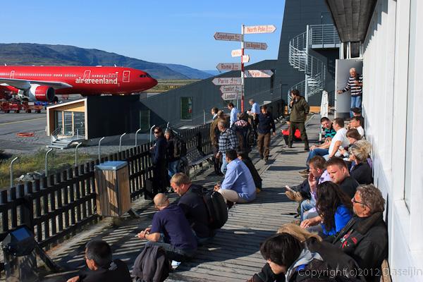 120815アイスランド、グリーンランドの旅・カンゲルルススアーク国際空港