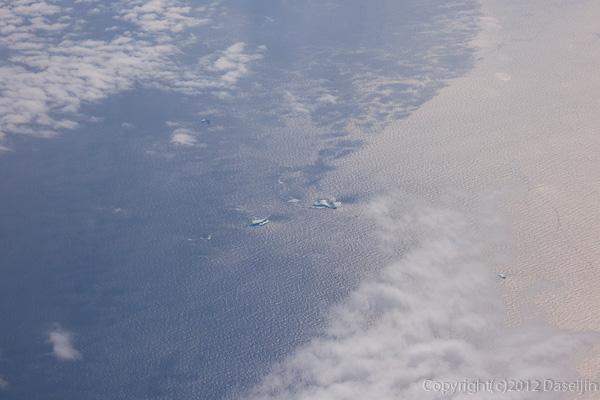 120815アイスランド、グリーンランドの旅・大西洋の氷山