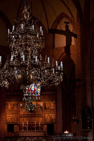 120816アイスランド、グリーンランドの旅・ヘルシンボリ、聖マリア教会