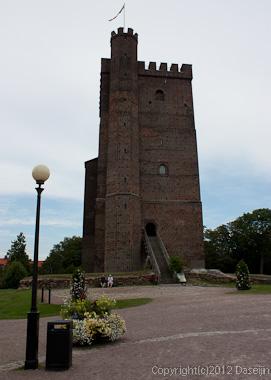 120816アイスランド、グリーンランドの旅・ヘルシンボリ、シェールナンの塔