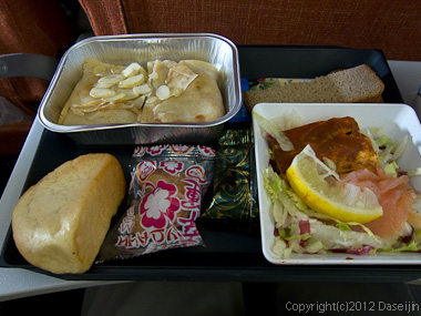 120817アイスランド、グリーンランドの旅・アエロフロート朝食