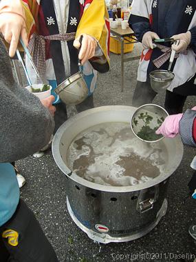 120318唐桑復興祭・激うまワカメのシャブシャブ