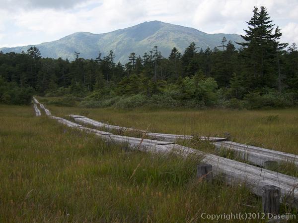 120915小赤沢・横田代から至仏山