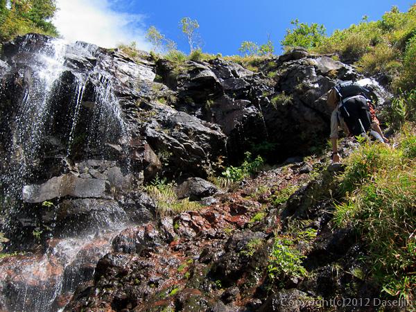 120915小赤沢・20m滝