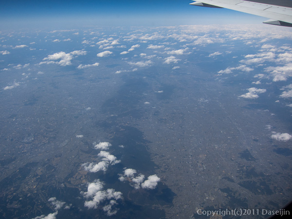 120404熊本・空撮大阪平野、奈良盆地
