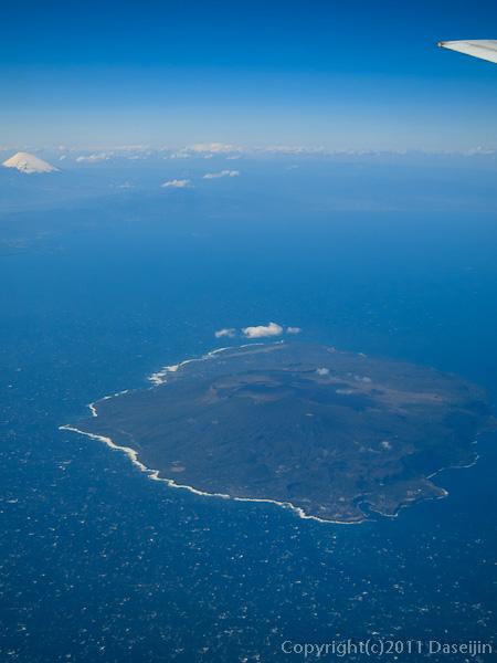120404熊本・空撮大島と富士山
