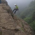 三つ峠クライミング、祝富士山世界遺産登録記念!だが、、、