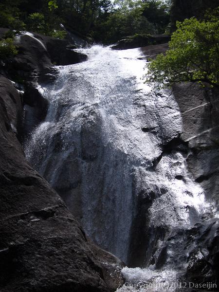 120623瑞牆山・不動滝