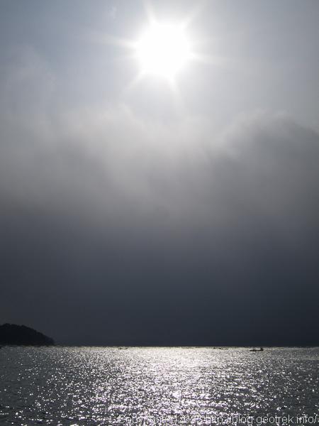陸前高田の沖