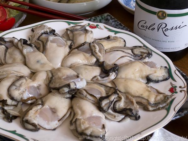 陸前高田の牡蠣
