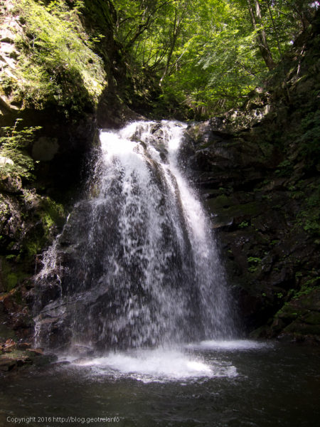 160730竜喰谷・曲り滝