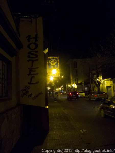 130829サルタ・Hostel in Salta