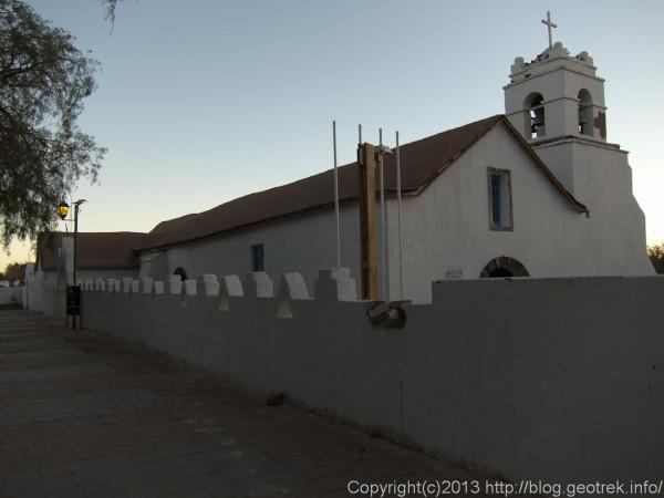 130901サンペドロ・デ・アタカマの教会