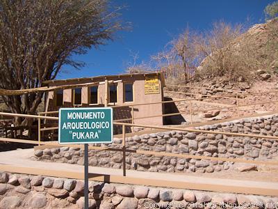 130902サンペドロ、プカラ遺跡の入り口