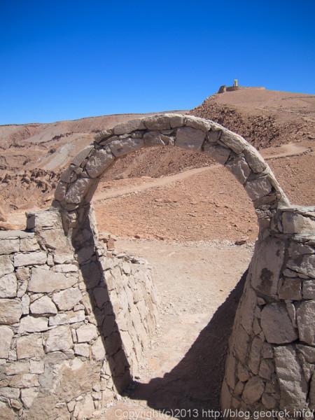 130902サンペドロ、プカラ遺跡の展望台