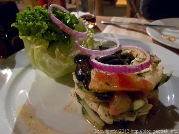 130902サンペドロ、adobeのサラダ