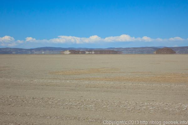 130904アタカマ砂漠、チグナ塩湖の蜃気楼3