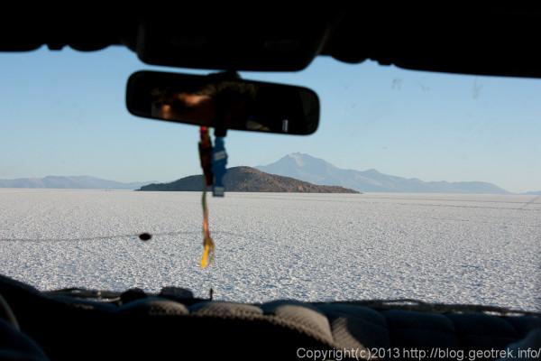 130905ボリビア、ウユニ塩湖のインカ・ワシ島