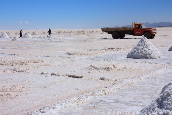 130905ボリビア、ウユニ塩湖、コルチャニ村