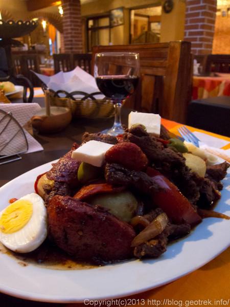130905ボリビア、ウユニのレストラン