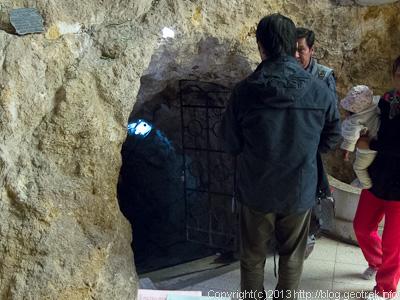 130906ボリビア、オルーロのソカボン鉱物博物館の入り口
