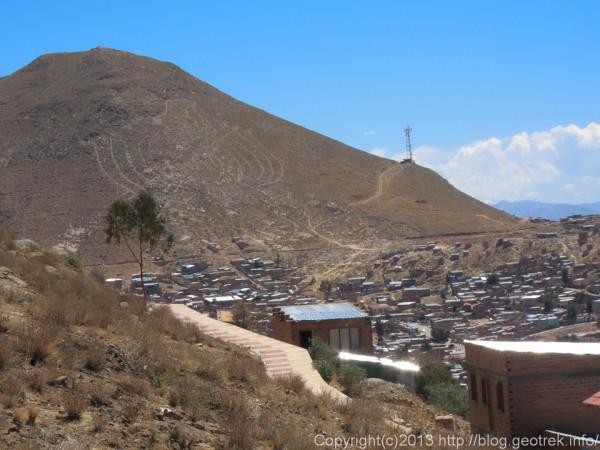 130906ボリビア、オルーロの地上絵