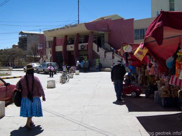 130906ボリビア、オルーロのバスターミナル