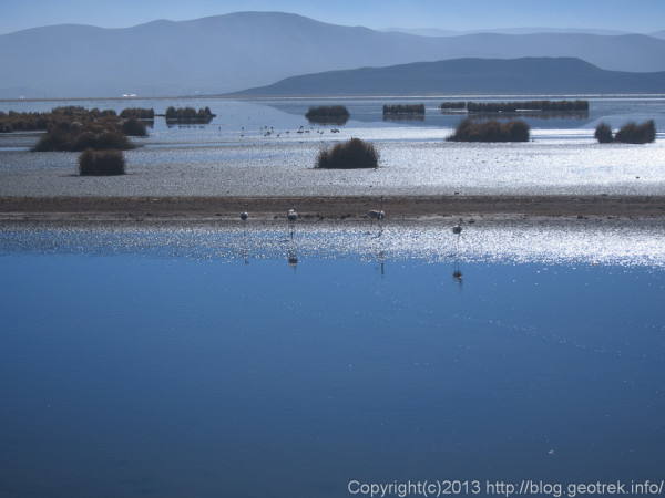 130906ボリビア、早朝のウルウル湖