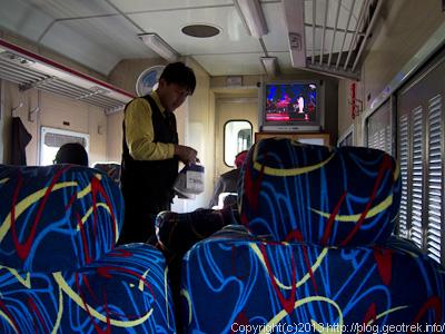 130906ボリビア、オルーロ、夜行列車