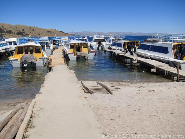 130907ボリビア、ティティカカ湖クルーズ