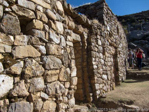 130709ボリビア、ティティカカ湖、太陽の島の神殿