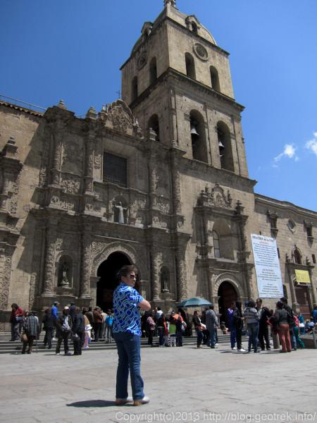 130908ボリビア、ラパスのサン・フランシスコ教会