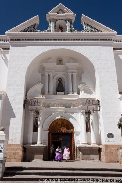 130907ボリビア、コパカバーナのカテドラル