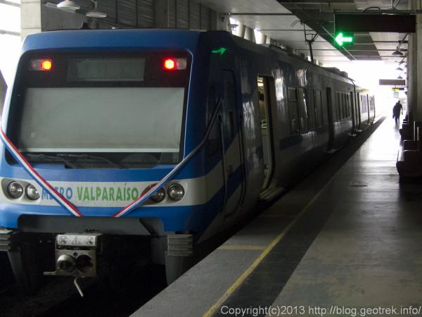 130909チリ、バルパライソ、鉄道