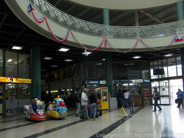 130909チリ、ビーニャ・デ・マルのバスターミナル
