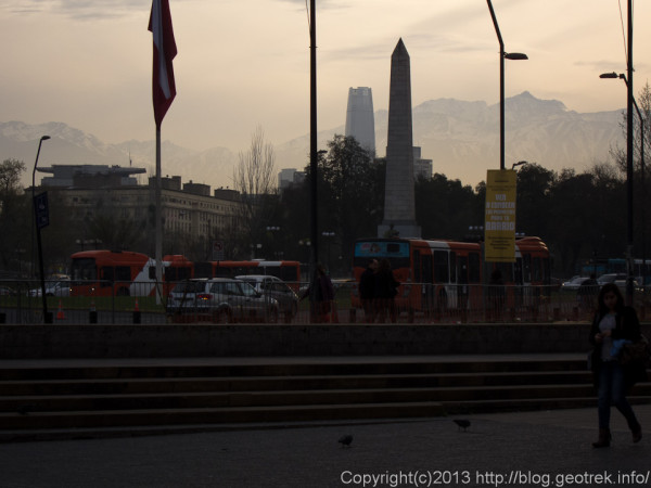 130909朝のサンティアゴ