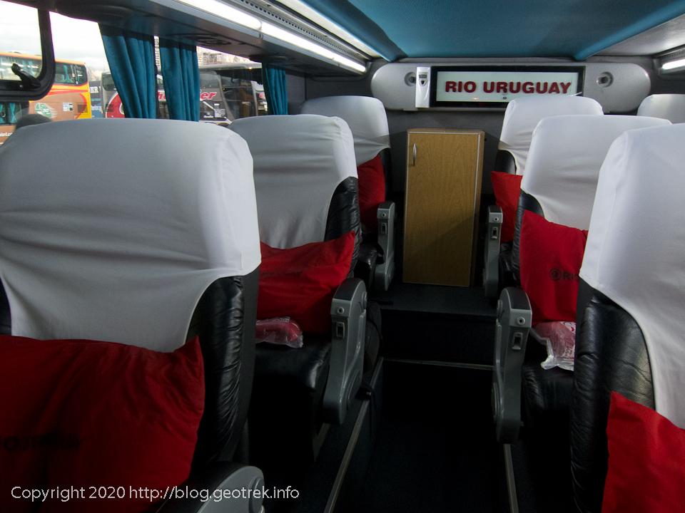130824 イグアス行のバスの車内