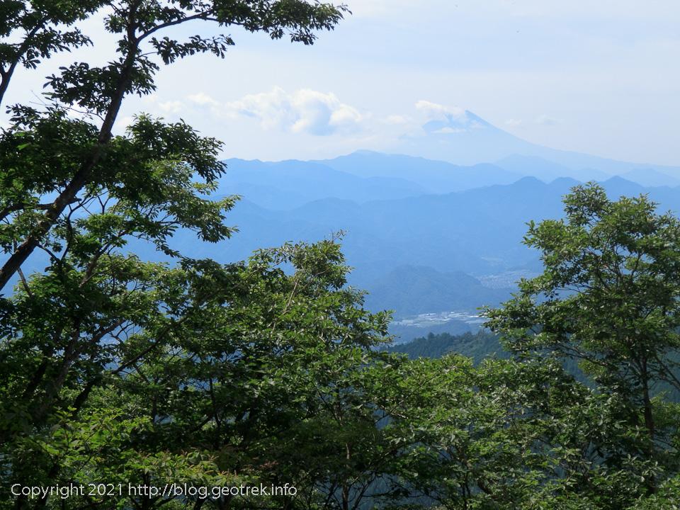 20210913 生籐山から富士山