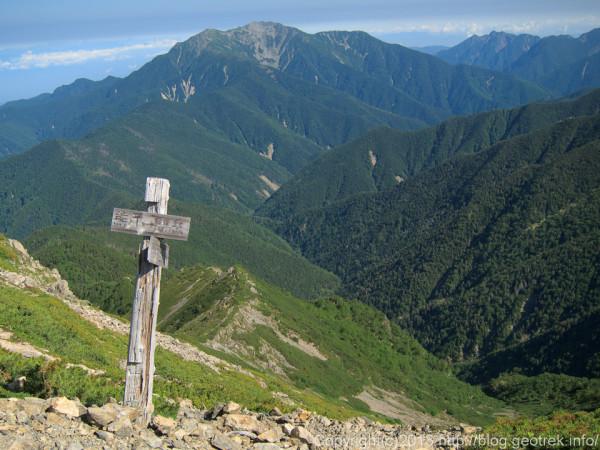 20130812三峰岳分岐