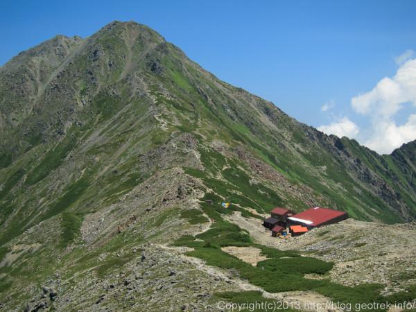 20130812北岳山荘