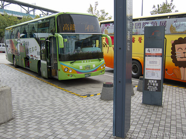 120310嘉義・阿里山行き好行バス