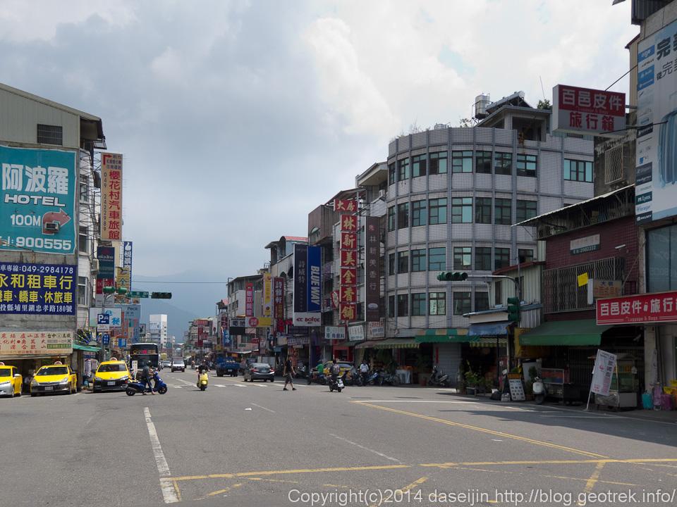 140911台湾・ 埔里のまち