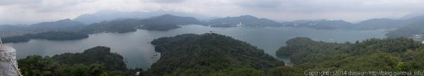 140912台湾・慈恩塔からのながめ