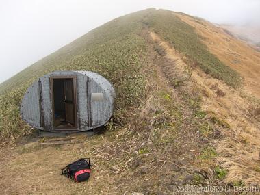 111104谷川岳・越路避難小屋