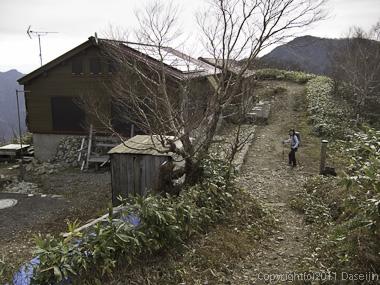 111105谷川岳・平標山の家