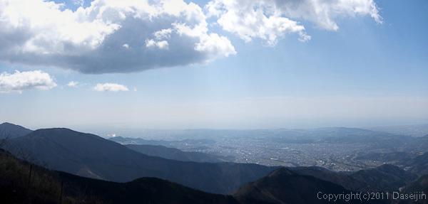 120407丹沢・鍋割山に行く途中の大平洋