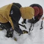 初滑り!でも吹雪…~立山・室堂(1)