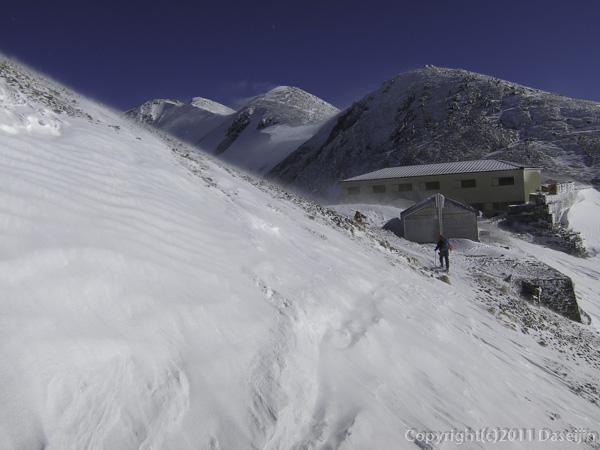 111126立山スキー・剣御前小屋