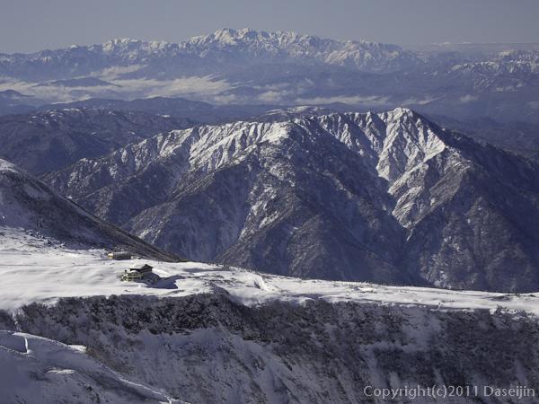 111126立山スキー・白山