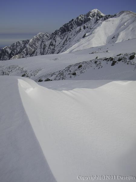 111127立山スキー・剱岳